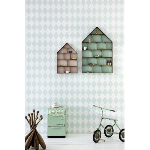 papier peint harlequin mint ferm living pour chambre enfant les enfants du design