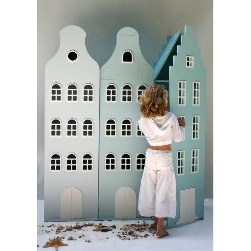Armoire Maison Amsterdam Escalier Bleu Clair