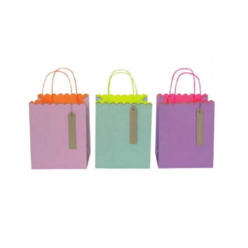 3 sacs Pastel Fluo - Medium