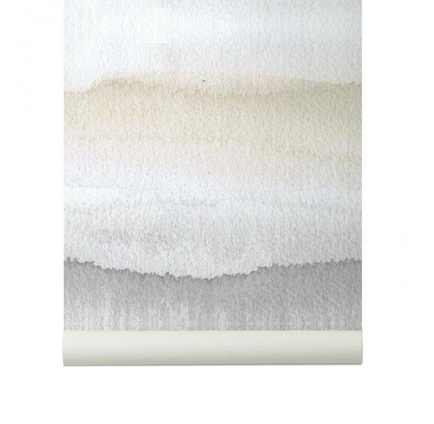 Papier peint Gryning - Gris Sandberg pour chambre enfant - Les ...
