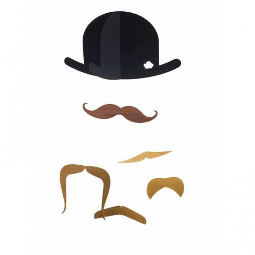 Mobile Mister Moustache Gold