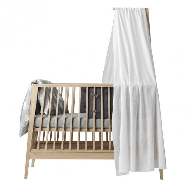 voile de lit bb linea blanc leander pour chambre enfant les enfants du design - Fleche De Lit