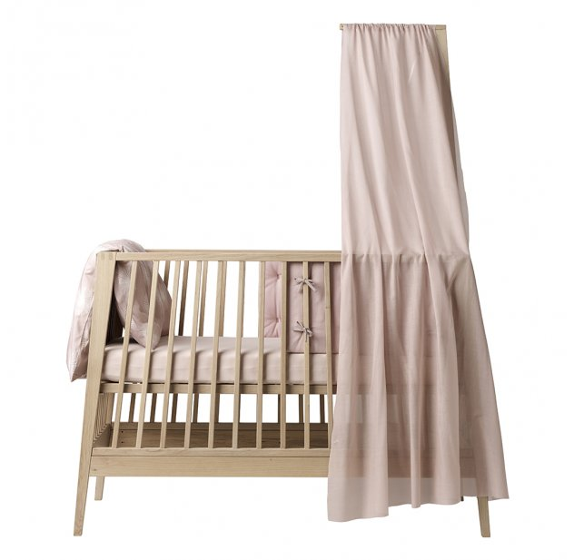voile de lit bb linea rose ple leander pour chambre enfant les enfants du design - Fleche De Lit