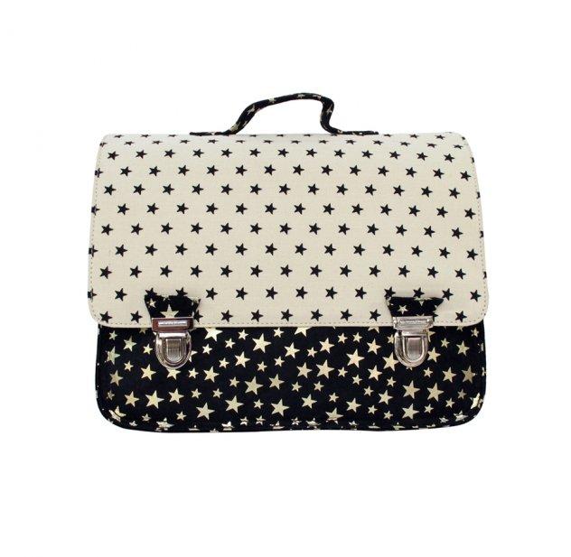 wholesale dealer b80c8 bb080 Petit cartable Black & White Stars