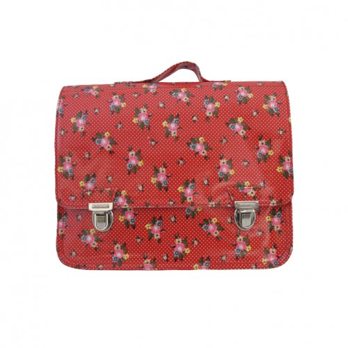 Petit cartable Red Flowers