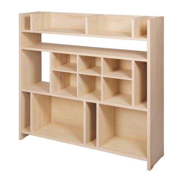 Non Jetable grande étagère bibliothèque secret nonjetable pour chambre enfant