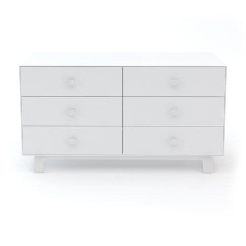 Commode Merlin Sparrow 6 tiroirs - Blanc