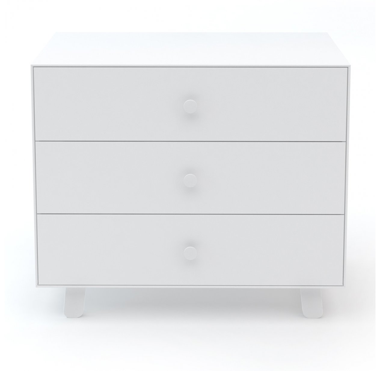 Commode Merlin Sparrow 3 tiroirs - Blanc