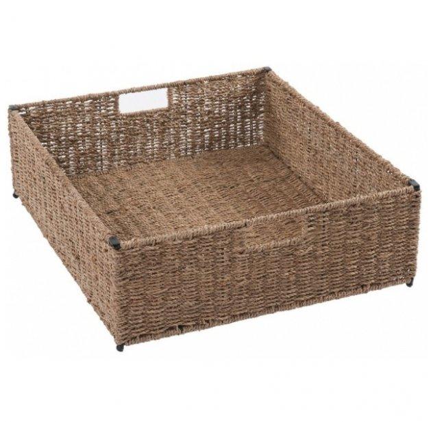 f806a220f1a41 Grand panier naturel pour tables à langer Comfort Quax pour chambre enfant  - Les Enfants du Design