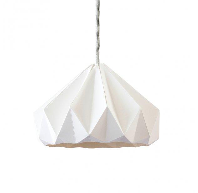 Suspension Origami Chestnut Blanche Studio Snowpuppe pour chambre ...