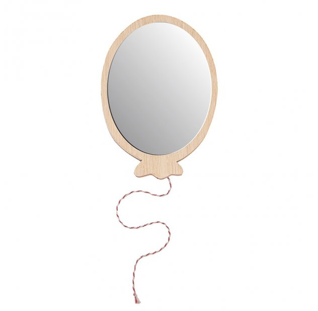 Miroir ballon April Eleven pour chambre enfant - Les Enfants du Design
