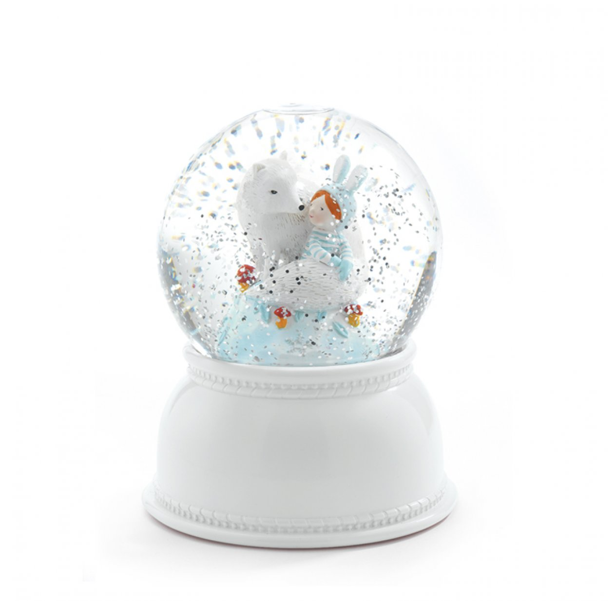 Veilleuse neigeuse Little Big Room - Lila & Pupi