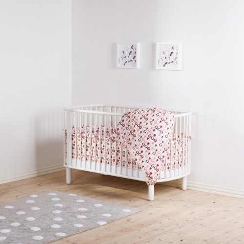 tour de lit rose flexa pour chambre enfant les enfants du design. Black Bedroom Furniture Sets. Home Design Ideas