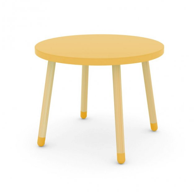 Petite Table Jaune Or Flexa Play Pour Chambre Enfant Les