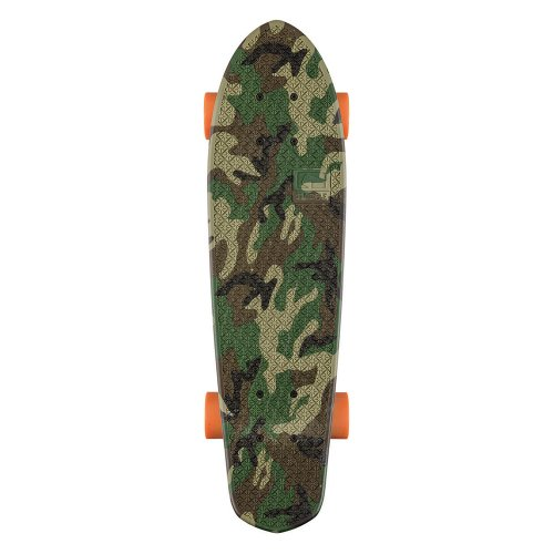 Skateboard Graphic Bantam Camo/Orange