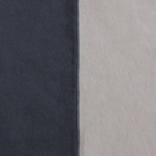 parure de lit bicolore nuit gris souris jack n 39 a qu 39 un oeil pour chambre enfant les enfants. Black Bedroom Furniture Sets. Home Design Ideas