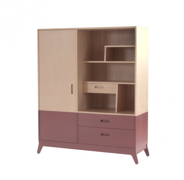 Armoire - Rouge Orient