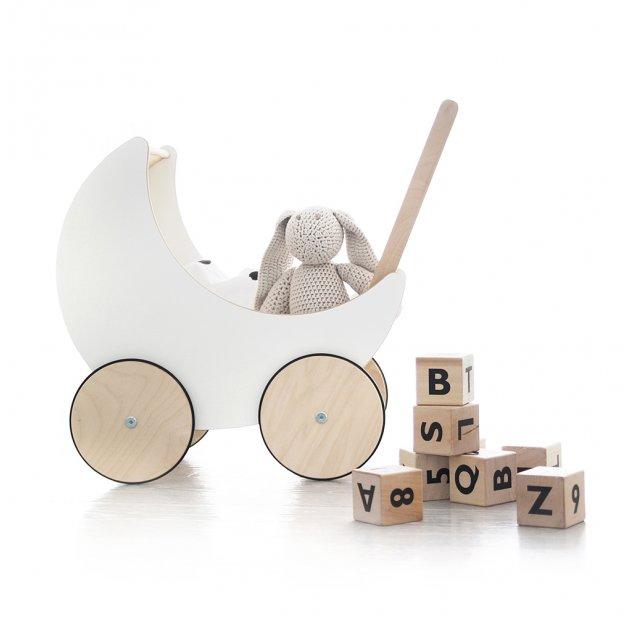 landau en bois jouet