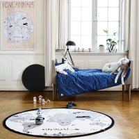 Tapis The Rug World / Mappemonde