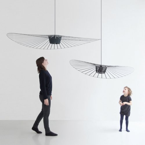 suspension vertigo noir petite friture pour chambre. Black Bedroom Furniture Sets. Home Design Ideas