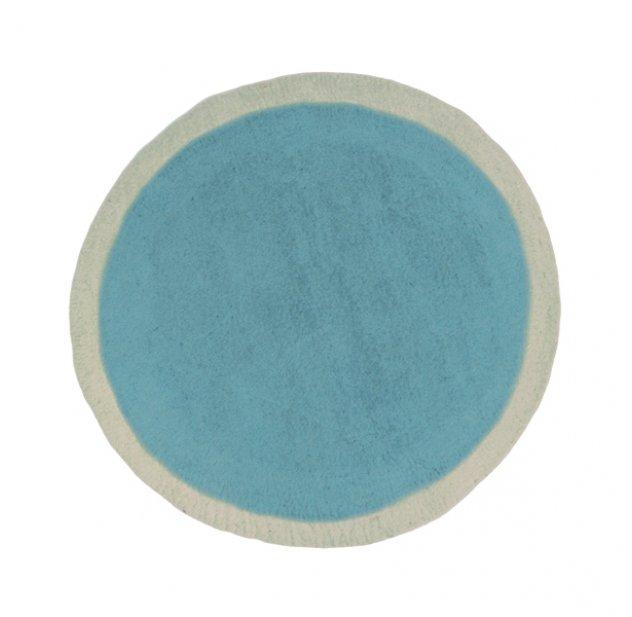 Tapis Lumbini 120 cm - turquoise pastel