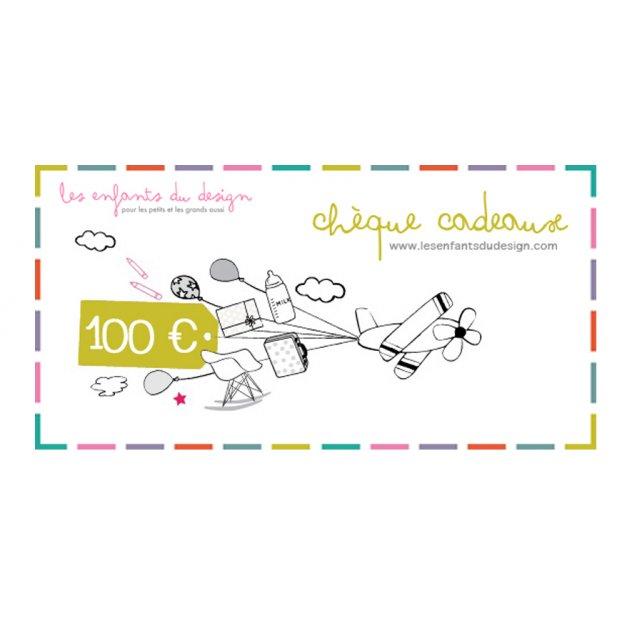 Chèque cadeaux 100 € Les Enfants du Design pour chambre enfant - Les ...