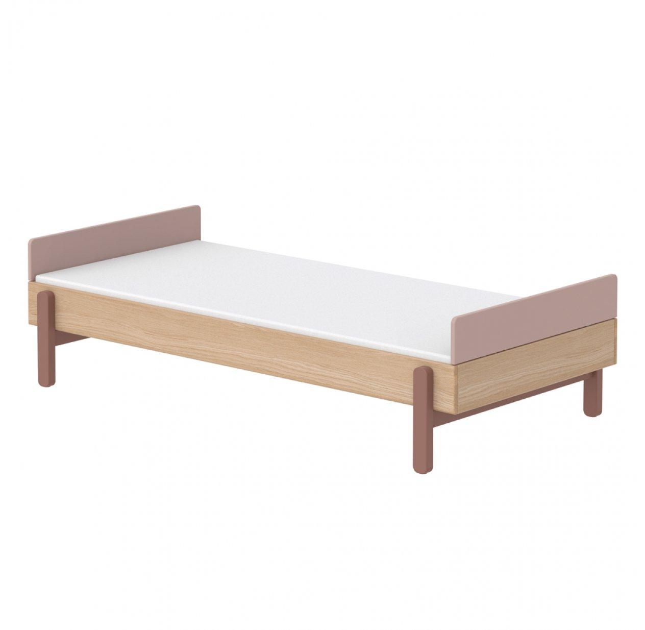 lit simple t te de lit basse popsicle ch ne cherry flexa popsicle pour chambre enfant les. Black Bedroom Furniture Sets. Home Design Ideas