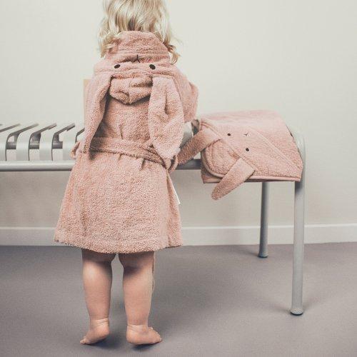 1e8508792de Cape de bain lapin Albert bébé - Rose Liewood pour chambre enfant ...