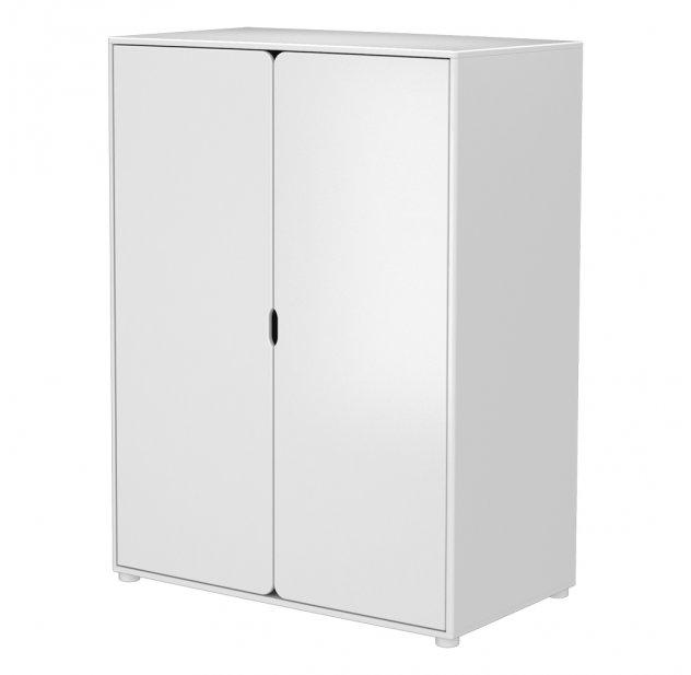 Armoire Basse 2 Portes Blanc Flexa Pour Chambre Enfant Les Enfants Du Design