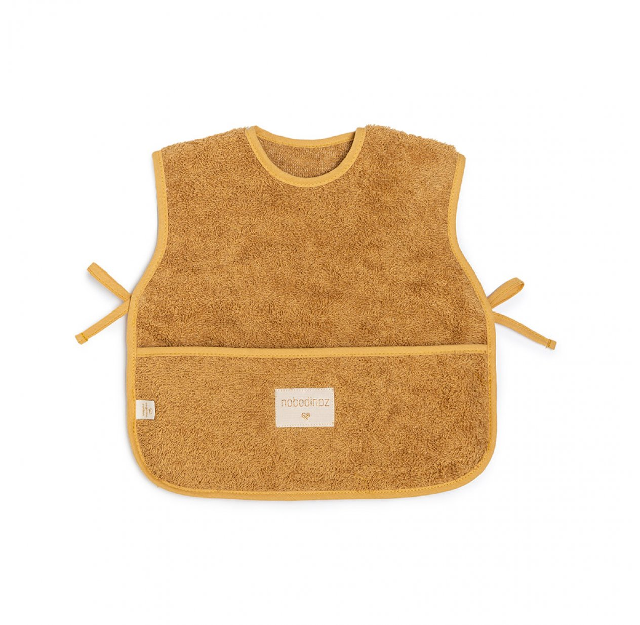 Bavoir Tablier So Cute - Caramel