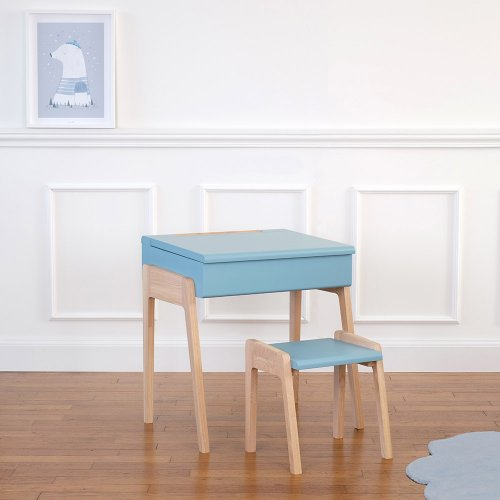 Bureau Enfant My Little Pupitre - Bleu