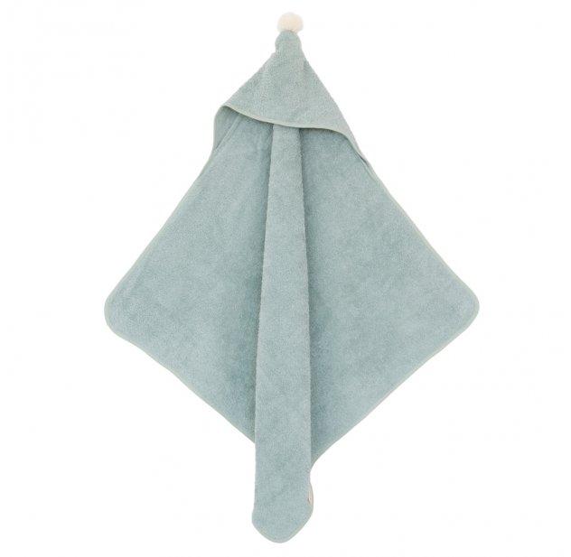 aab90fb894935 Cape de bain bébé So Cute - Vert pâle Nobodinoz pour chambre enfant - Les  Enfants du Design