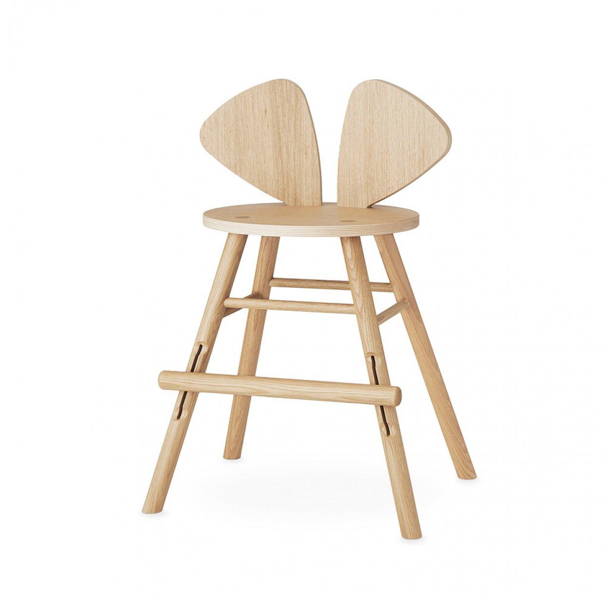 chaise junior mouse 3 9 ans ch ne nofred pour chambre enfant les enfants du design