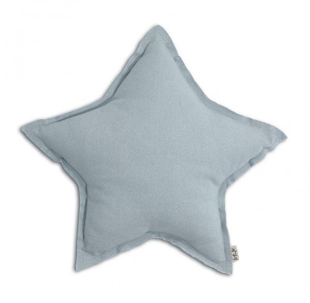 Coussin Etoile - Bleu clair Numéro 74 pour