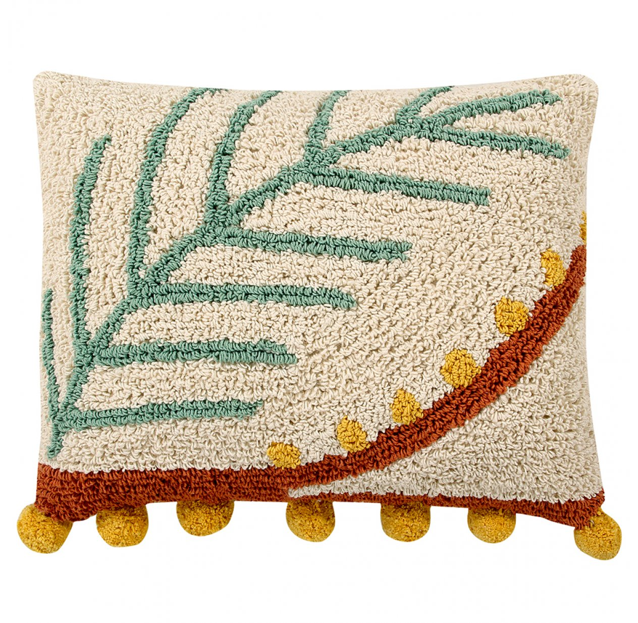 Coussin Palm - Terracotta