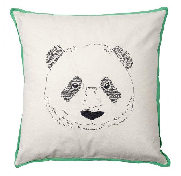 Coussin Tete De Panda