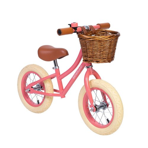 Draisienne First Go Girl - Corail