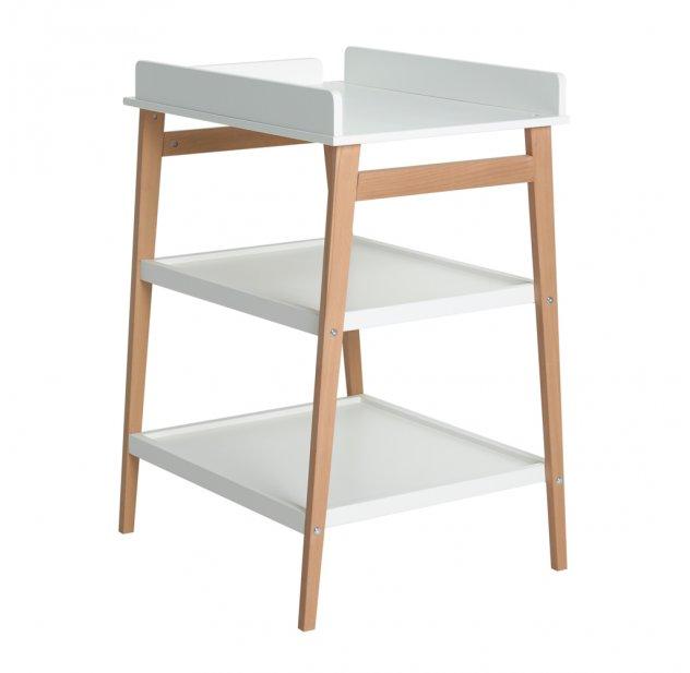 Table A Langer Hip Blanc Naturel Quax Pour Chambre Enfant Les