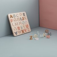 Puzzle alphabet ABC - Multicolore