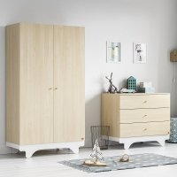 Armoire 2 portes Playwood - Bouleau