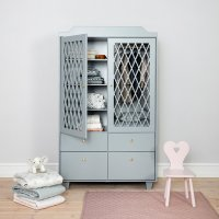 Armoire Harlequin - Gris clair