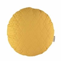 Coussin Sitges Pure Line - Jaune or