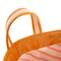 Sac de rangement Velours Savanna - Moutarde