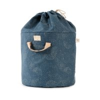 Sac de rangement Bamboo L bubble Elements - Bleu marine