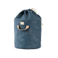 Sac de rangement Bamboo S bubble Elements - Bleu marine