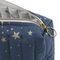 Trousse Vanity Travel Gold Stella - Marine