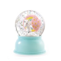 Veilleuse neigeuse Little Big Room - Licorne