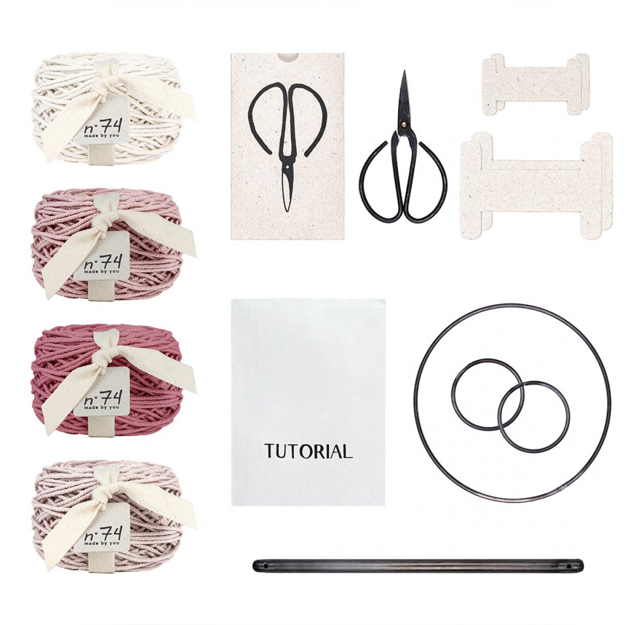 Kit de Macramé Freedom Spring
