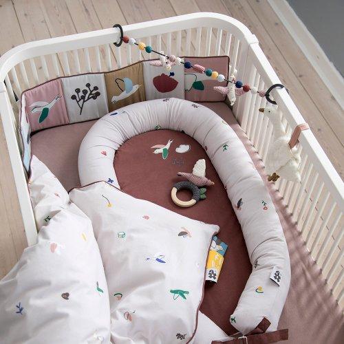 Drap housse pour matelas bébé 70x112,5x8