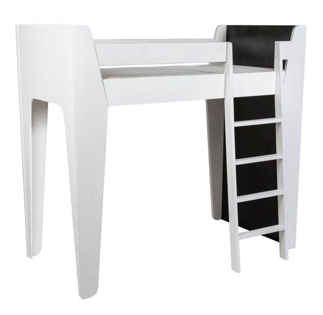 Lit Mezzanine Ketara   Noir / Blanc Lumokids Pour Chambre Enfant   Les  Enfants Du Design